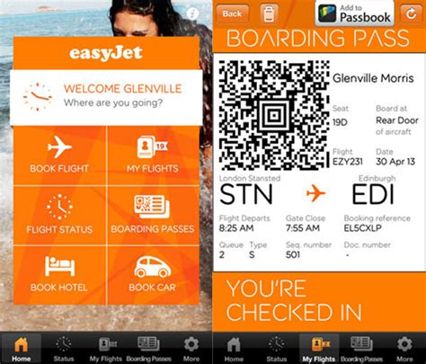 easyjet mobile boarding pass easyjet launches mobile boarding at gatwick airport