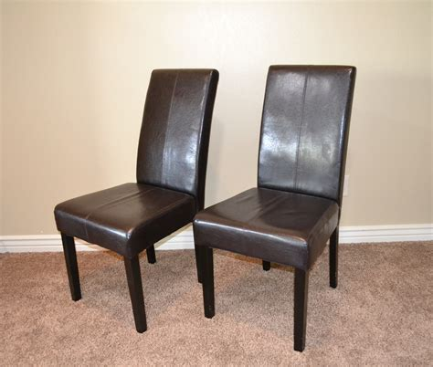 parsons dining room chairs black leather parsons dining room chairs indiepretty