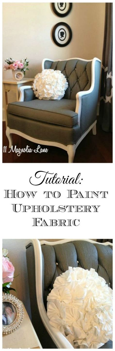 How To Remove Paint From Upholstery by Tutorial How To Paint Upholstery Fabric And Completely