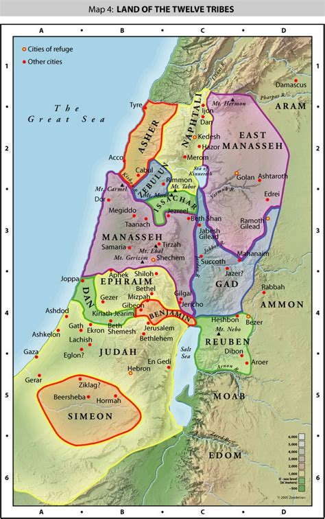 ancient middle east map judah panoramio photo of 12 tribes map