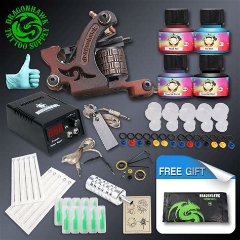 tattoo ink suppliers cheap beginner tattoo kit high cost performance 1 tattoo