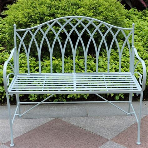 metal yard benches gothic vintage outdoor foldable iron garden bench buy
