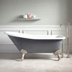 corner clawfoot bathtub 66 quot goodwin cast iron clawfoot tub imperial