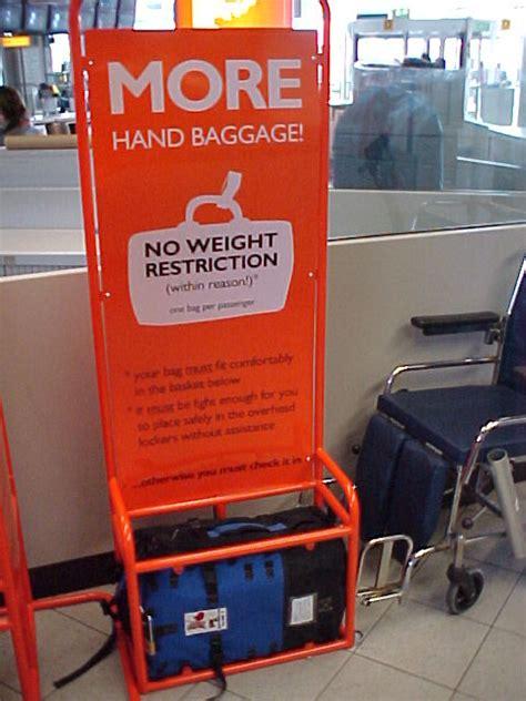 cabin baggage easyjet amsterdam airport easyjet