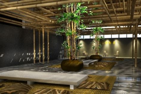 bamboo interior design images