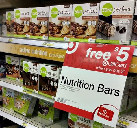 Reward Zone Walmart Gift Card - zoneperfect kids zone 5 ct bars only 1 15 at target consumerqueen com oklahoma s