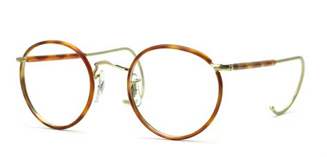 savile row 18kt beaufort half covered cable temples