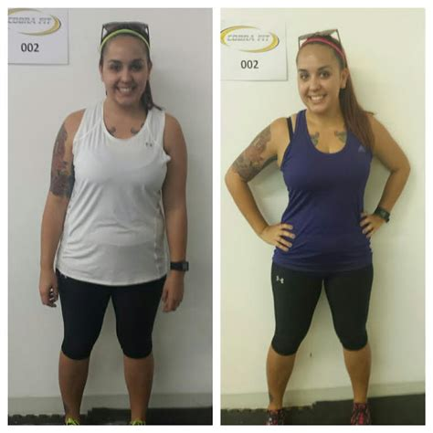 weight loss 10 weeks image gallery kickboxing results