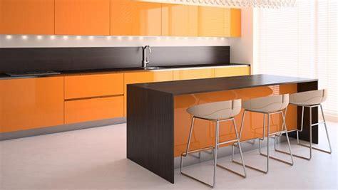 foto cocinas fotos de cocinas de color naranja