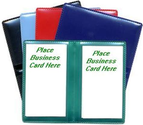 Business Card Sheet Protector