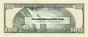 dollar bill business cards 100 dollar bill business cards