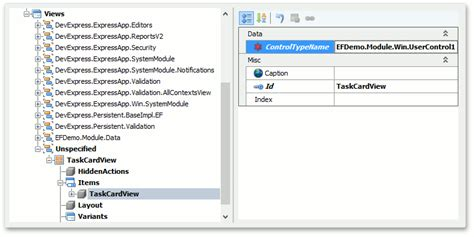 devexpress layout view hide caption how to show a custom data bound control in an xaf view
