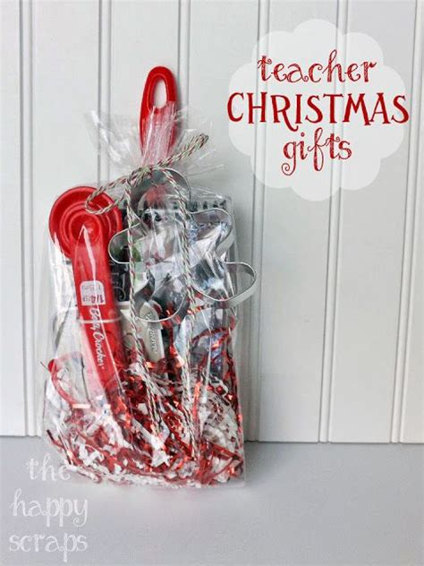 teacher christmas gift ideas the happy scraps teacher