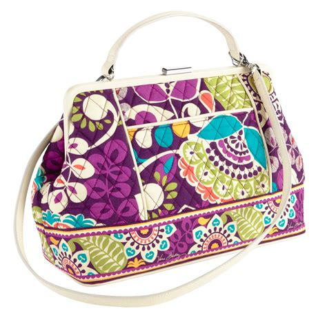Vera Doctor Frame Bag by Vera Bradley Barbara Frame Bag Satchel Ebay