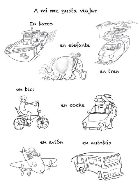 boat in spanish means means of transportations rockalingua spanish class