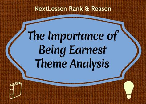themes and background the importance of being earnest 268 best images about ap lit on pinterest
