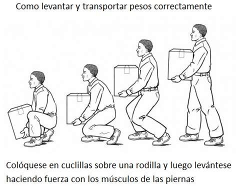 como mover un mueble pesado bricoinventos posturas correctas para tener una columna vertebral sana