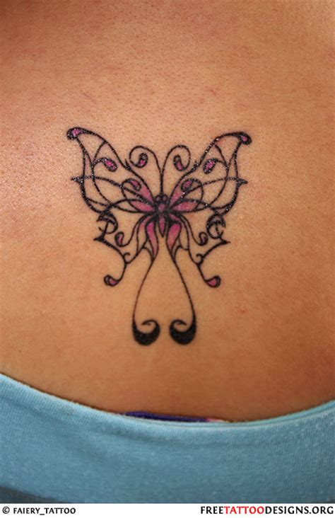butterfly back tattoos butterfly gallery