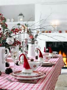 Christmas Table Settings by 40 Christmas Table Decoration Ideas