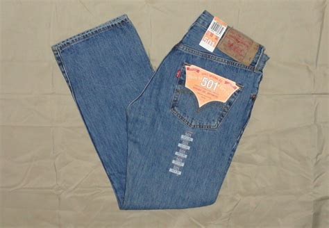 Blue Garment Size 31 34 levis 501 mens authentic many sizes new w tags 30 32 34 36 38 31 40 33 42 ebay