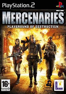 mercenaries: playground of destruction wikipedia