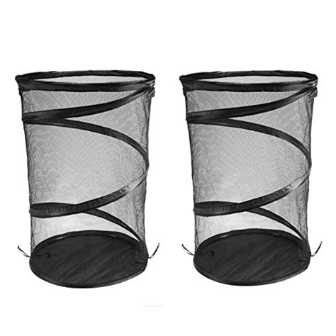 Ohuhu Pop Up Mesh Laundry Her Black 2 Pack Import Black Laundry