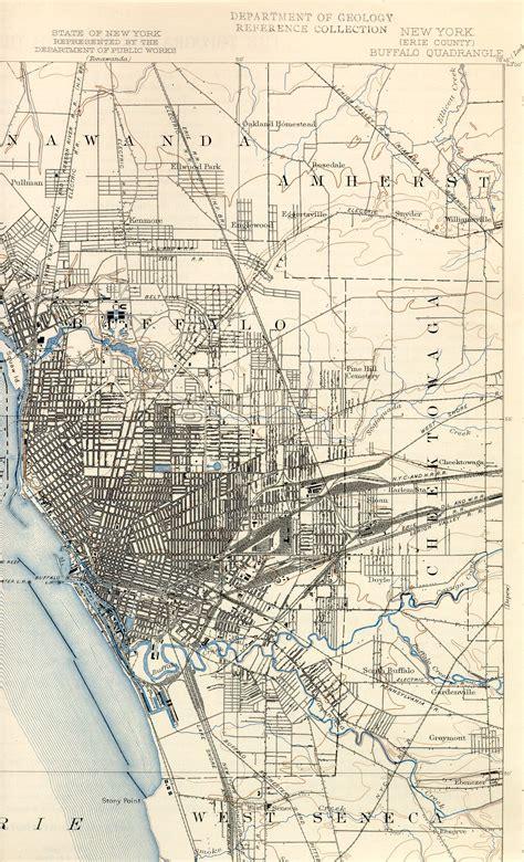 buffalo map railroads in buffalo