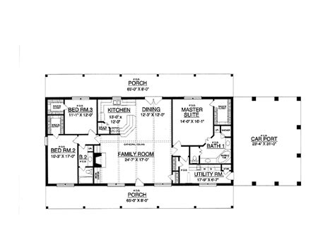 Rectangle House Plans Myideasbedroom Com