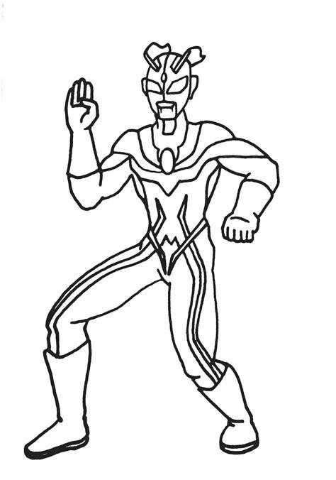 Gambar Ultraman Zero Untuk Mewarnai - gambarkakak