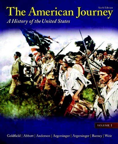 a most improbable journey a big history of our planet and ourselves books cheapest copy of the american journey volume 1 6th
