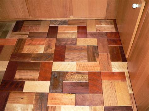 Reclaimed Wood Tile Flooring by Reclaimed Barnwood Bricks For The Home