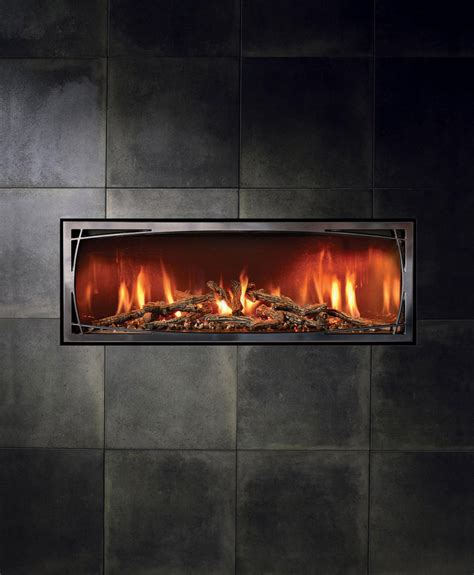 linear gas fireplaces mendota ml47 mod fullview modern linear gas fireplace