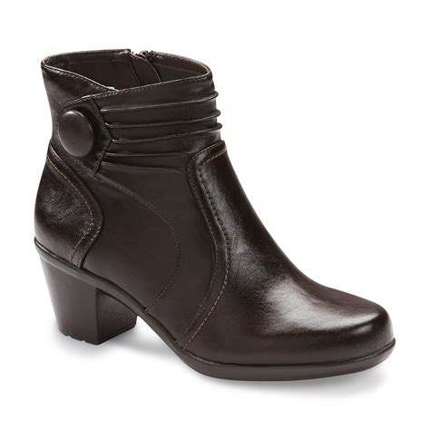 sears womens ankle boots i comfort s mona ankle boot brown clothing