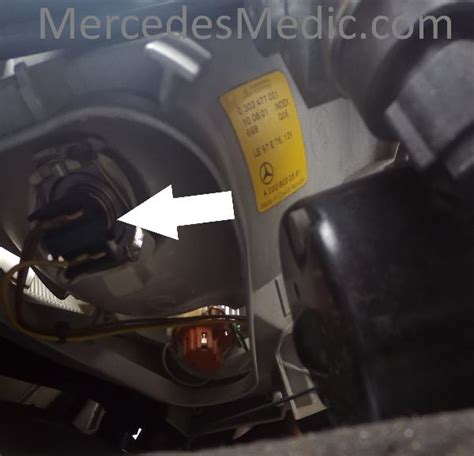 how to change low beam bulb on a 2000 mercury villager how to replace low high beam headlight bulbs w220 s430 s500 cl500