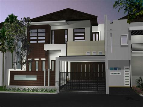 desain interior rumah 6 x 15 struktur gambar merencanakan desain rumah 2 lantai