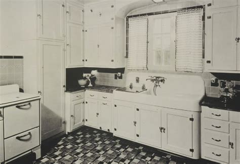 1930s Kitchen Design 16 Vintage Kohler Kitchens And An Important Kitchen Sinks Still Offered Today Retro Renovation