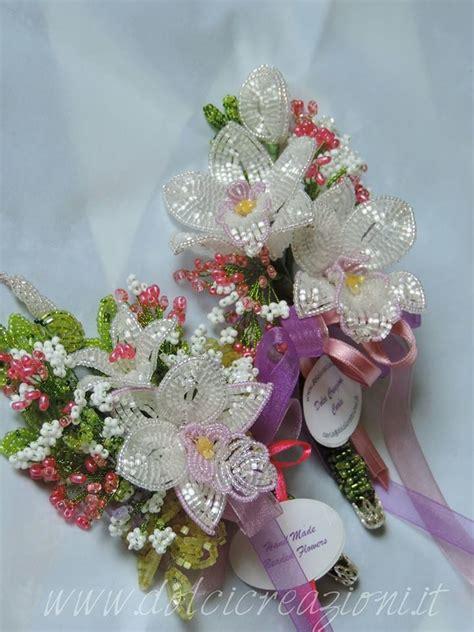 fiori di orchidee fiori di perline beaded flowers orchidea orchid