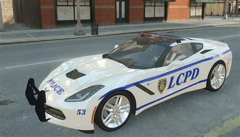 police corvette stingray gta gaming archive