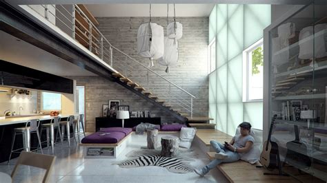 Lofted Luxury Design Ideas Loft Apartment Interior Design Ideas