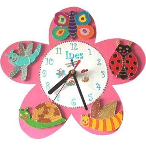 horloge enfant horloge enfant personnalis 233 e fleur billes de clowns