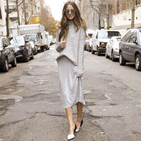 Turtleneck Sweater Sweater Terbaru Onstreet Grey best 10 style ideas how to wear sweaters with midi