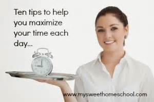 10 Tips To Help You Be A Great Hostess by Ten Tips To Help You Maximize Your Time Each Day My