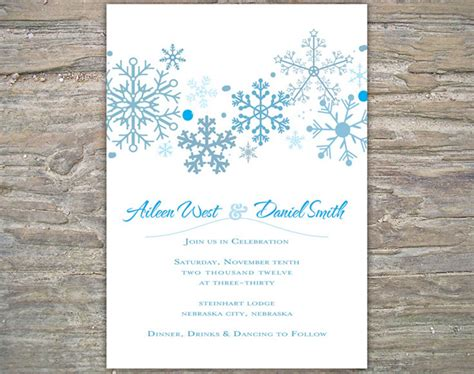 winter themed wedding shower invitations etsy eye winter wedding invitations
