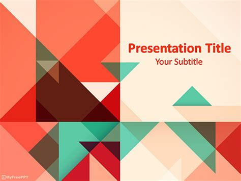 free ppt templates for geometry free template powerpoint templates myfreeppt com