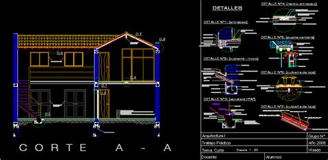housing  plants section dwg section  autocad