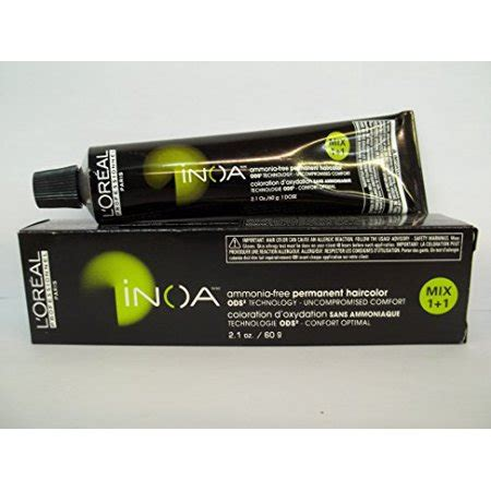 ammonia free permanent hair color l oreal professionnel inoa ammonia free permanent hair