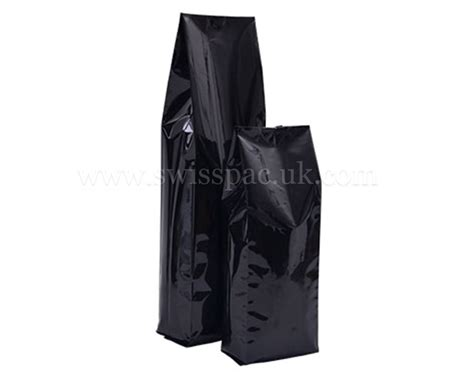 Coffee Bag Flat Bottom Valve Zipper Uk 7 5x18x3 Cm side gusset bags side gusset plastic bags