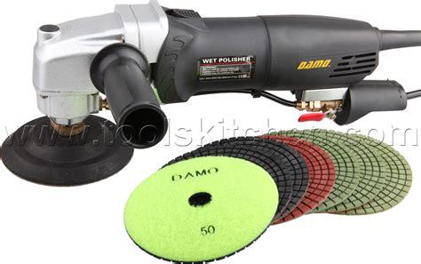 damo variable speed polisher 5 quot polishing kit for