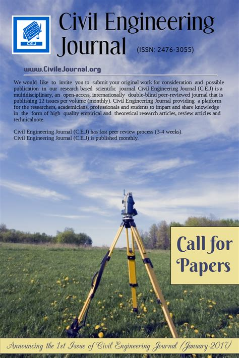 research paper for civil engineering civil engineering research papers