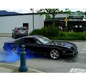 Blue Smoke Leaving A Car Show 1988 IROC Z Camaro  YouTube